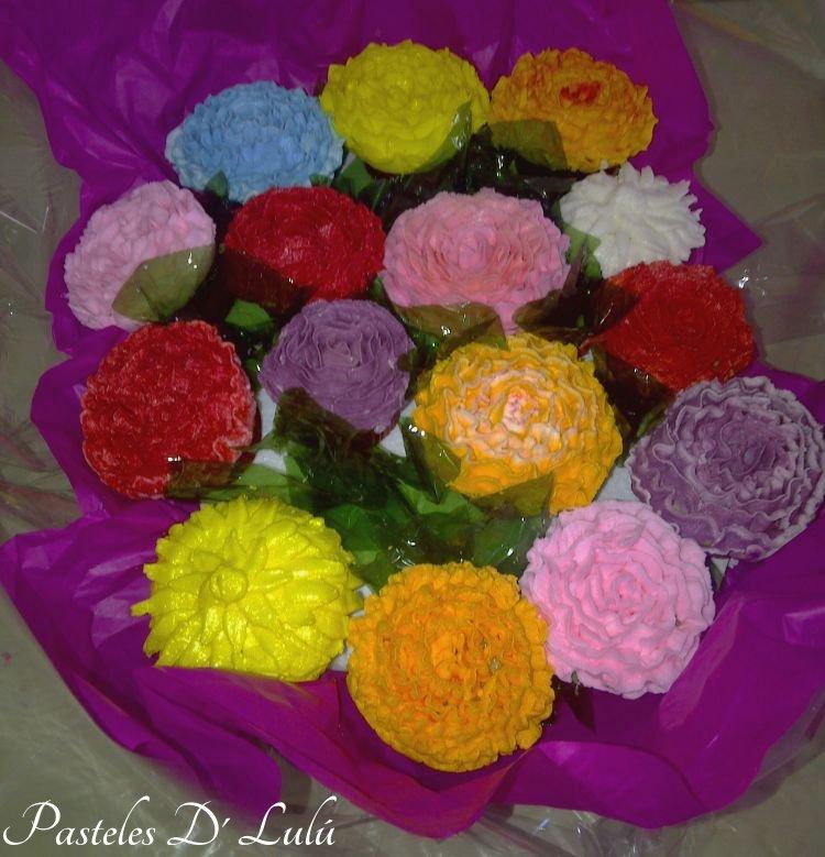 bouquet-cupcakes
