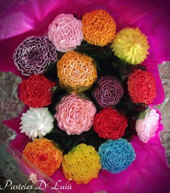 bouquet-flores-cupcakes