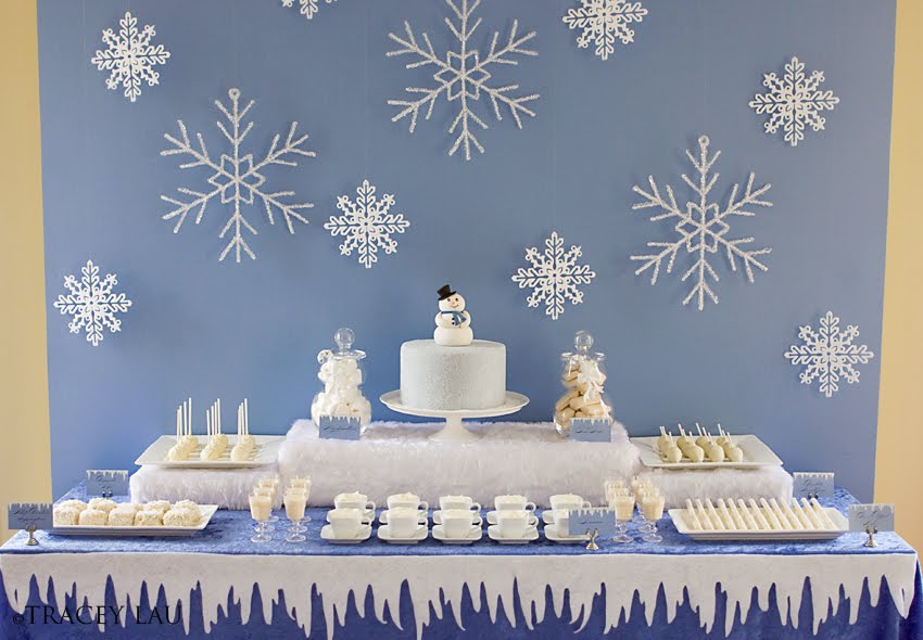 Snowman-Dessert-Table-Ideas-For-Christmas
