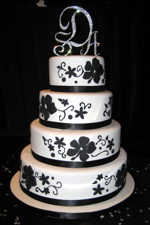 red-black-and-white-wedding-cakes-minimalist-ideas-on-home-gallery-design-ideas