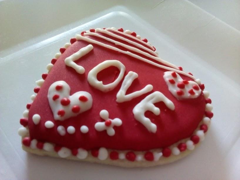 Deliciosas Galletas Decoradas Para San Valentín Pasteles D